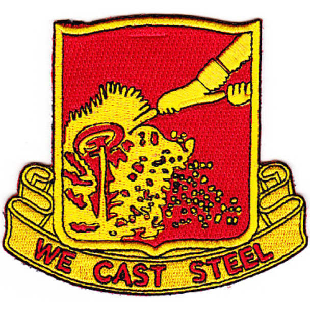 595th Field Artillery Battalion Patch
