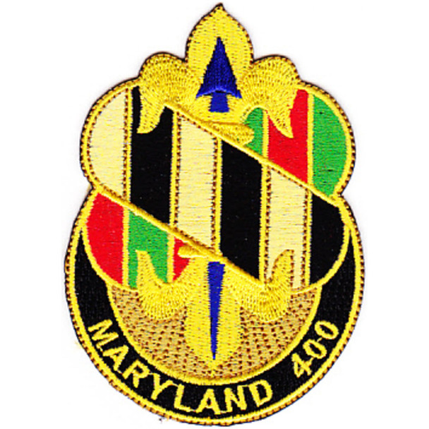 58th Infantry Regiment Brigade Combat Team, Special Troops Battalion Patch