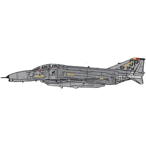 58 TFW F-4 Phantom II Side View Airframe TFW Patch
