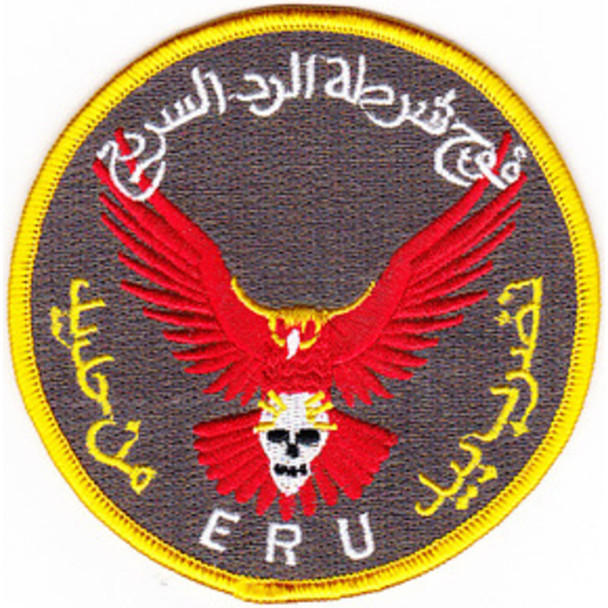 Seal Team Training Iraqi Emergency Response Unit Patch