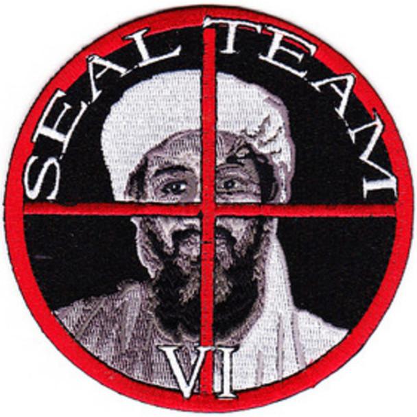 Seal Team IV Osama Bin Laden Patch