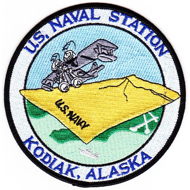 Naval Station Kodiak, Alaska WWII Patch