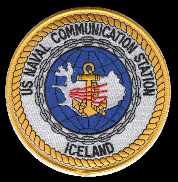 Naval Communication Station Iceland Patch