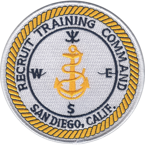 Recruit Training Command San Diego, California Patch
