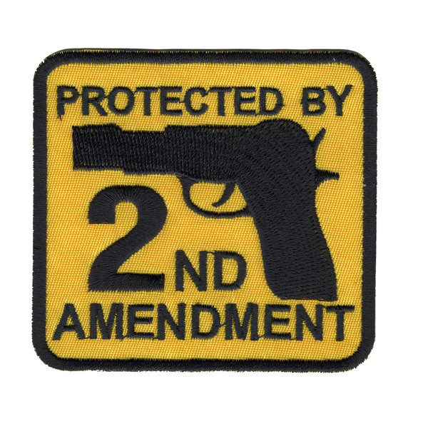 Protected By 2nd Amendment Patch