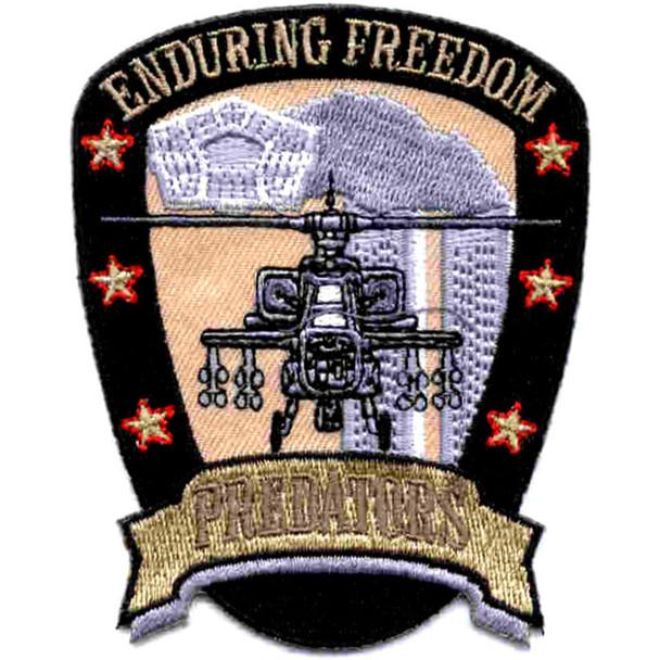 Operation Enduring Freedom Patch Predators Apache