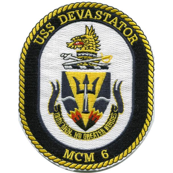 MCM-6 USS Devastator Patch