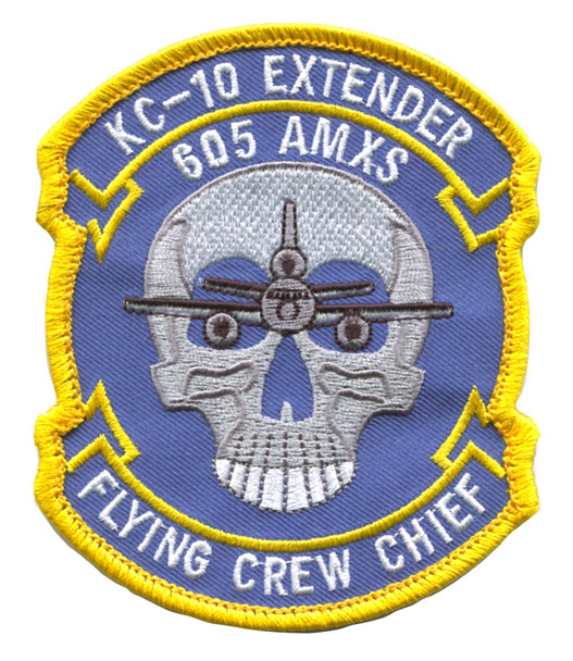 McDonnell Douglas KC-10 Extender 605th Air Maintenance Squadron Patch