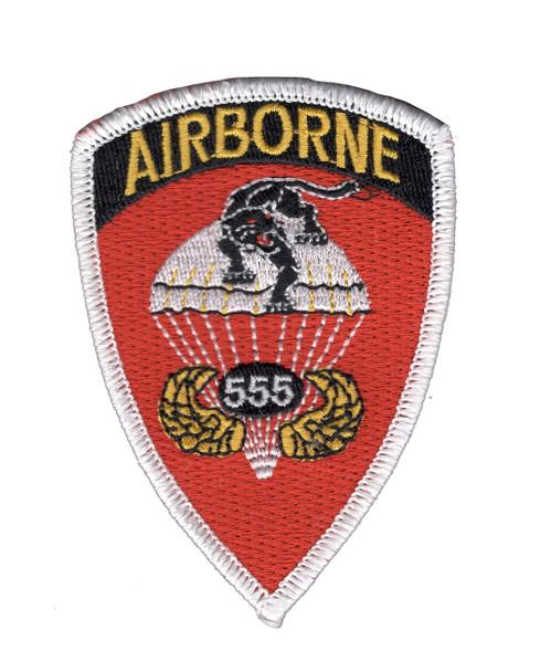 555th Airborne Infantry Regiment Patch