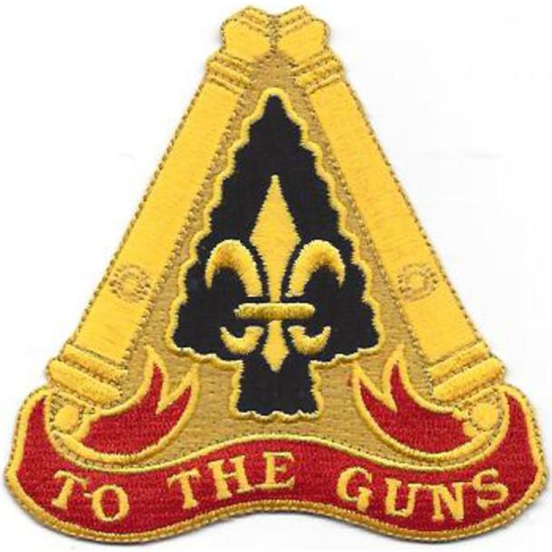 54th Field Artillery Brigade patch DUI