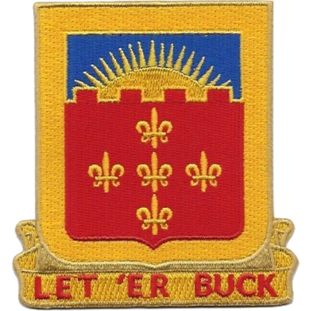 549th Armored Field Battalion Patch