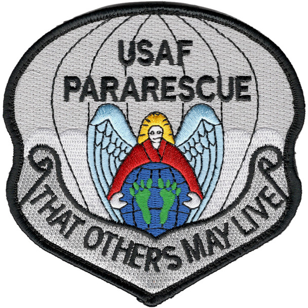Pararescue Jumper Patch So Others May Live Hook and Loop Version