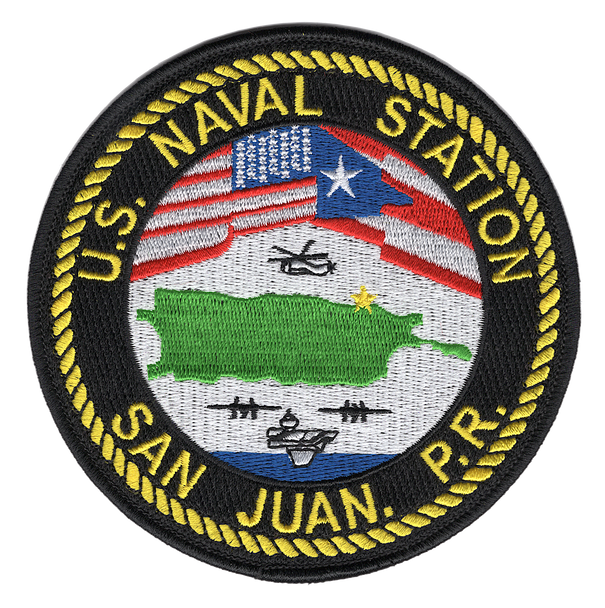 San Juan Naval Station Patch - Puerto Rico
