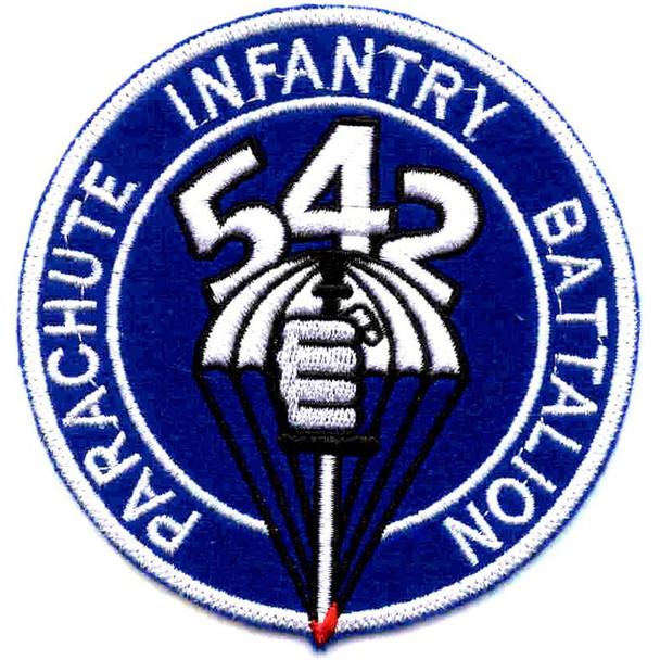 542nd Parachute Infantry Battalion Patch