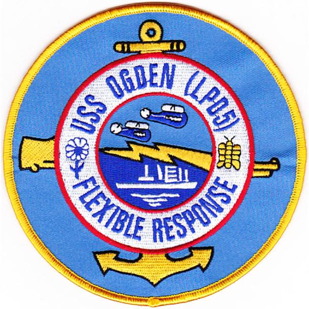 LPD-5 USS Ogden Patch
