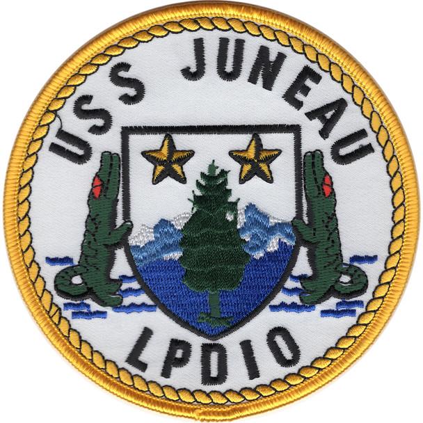 LPD-10 USS Juneau Amphibious Transport Dock Patch