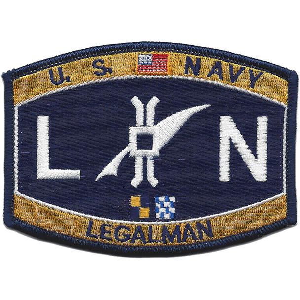 LN Deck Rating Legalman Patch