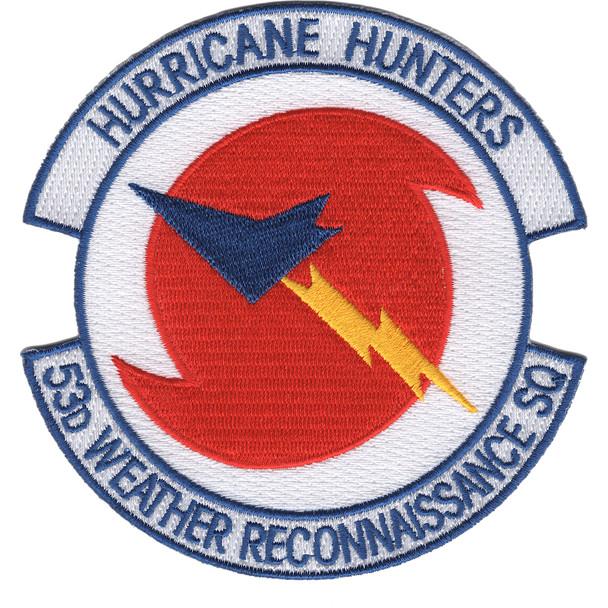 53rd Weather Reconnaissance Squadron Patch