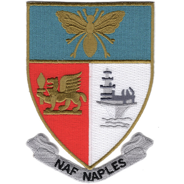 Naval Air Facility Naples Italy Patch