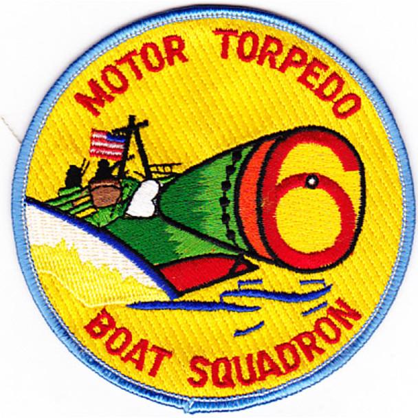 Mtbron-6 Motor Torpedo Boat Squadron 6 Patch