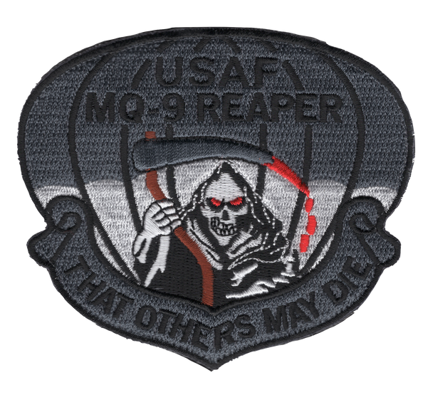 MQ-9 Reaper That Others May Die Patch Hook And Loop