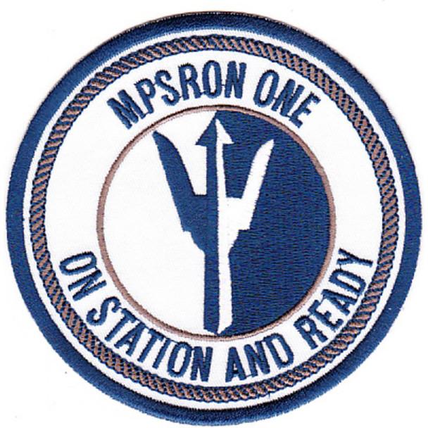 MPSRON 1 Maritime Prepositioning Ship Squadron One Patch