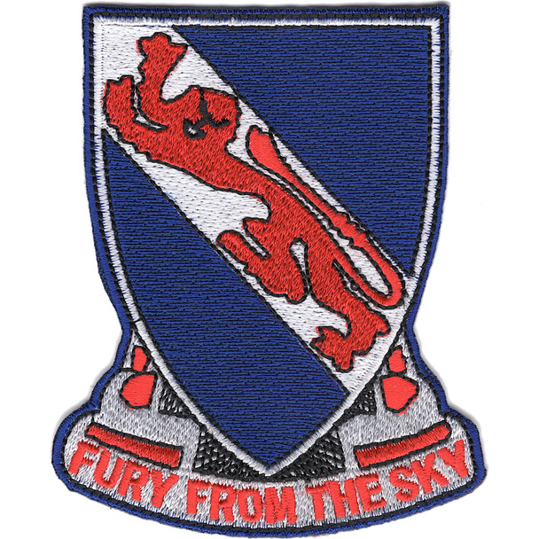 508th Airborne Infantry Regiment Patch Fury From The Sky Vietnam