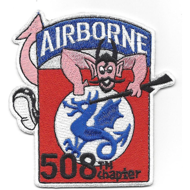 508th Airborne Infantry Regimental Combat Team Patch - 508th Chapter