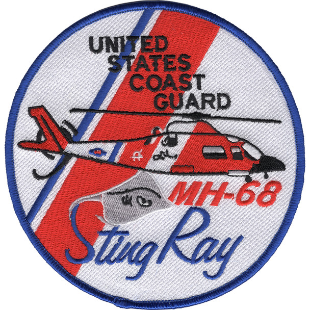 MH-68 Sting Ray Medium Range Tactical Interdiction Helicopter Patch