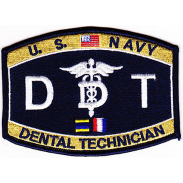 Medical Rating Dental Technician Patch
