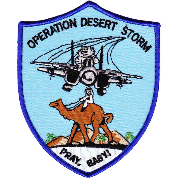 F-14 Tomcat Operation Desert Storm Patch Pray Baby