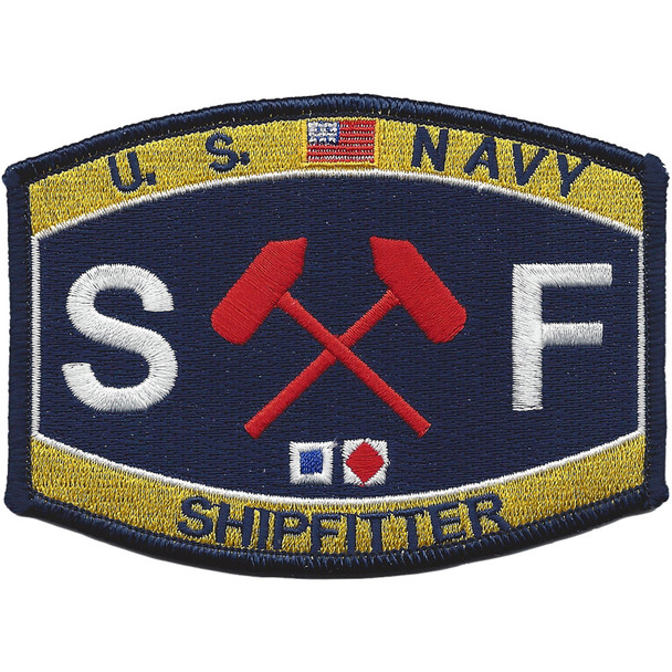 Engineering Rating Shipfitter Patch