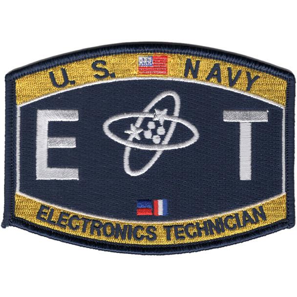 Electronics Technician Rating Patch - ET