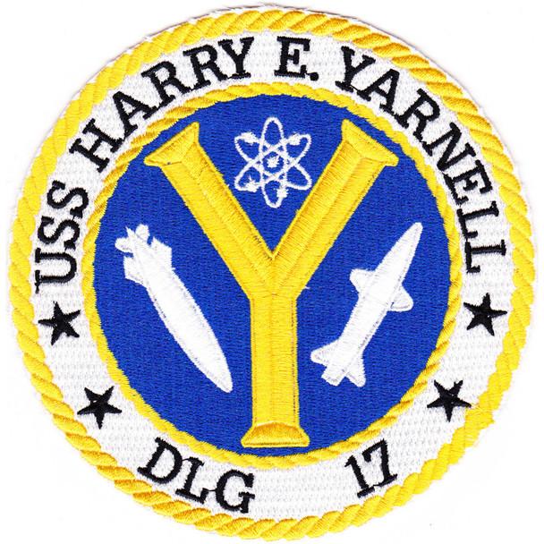 DLG-17 USS Harry E Yarnell  Patch