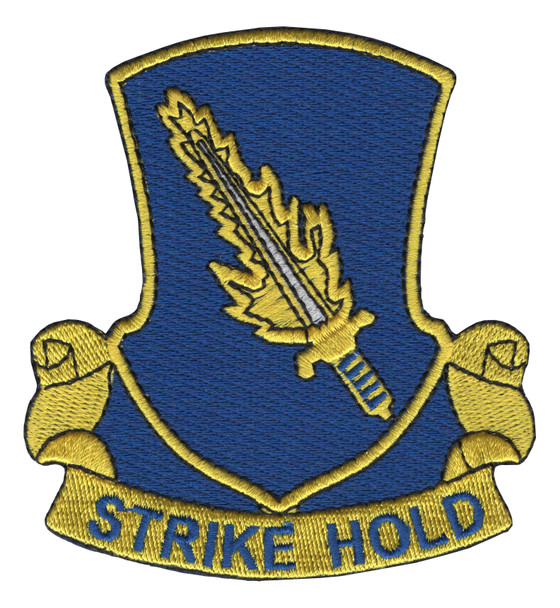 504th Airborne Infantry Regiment Patch Strike Hold