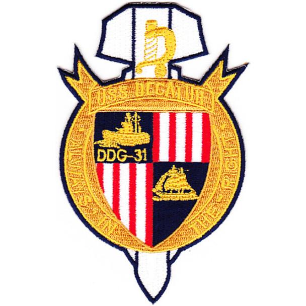 DDG-31 USS Decatur Patch