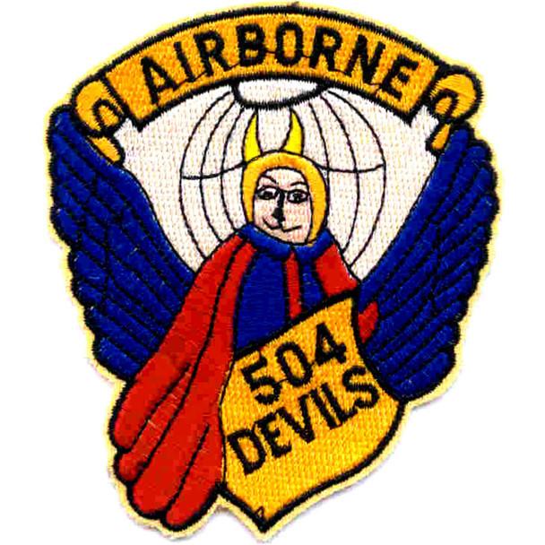 504th Airborne Infantry Regiment Patch Airborne 504 Devils
