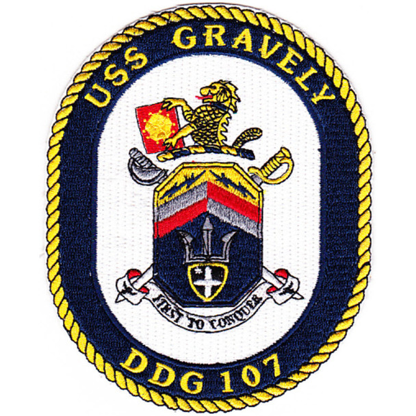 DDG-107 USS Gravely Patch