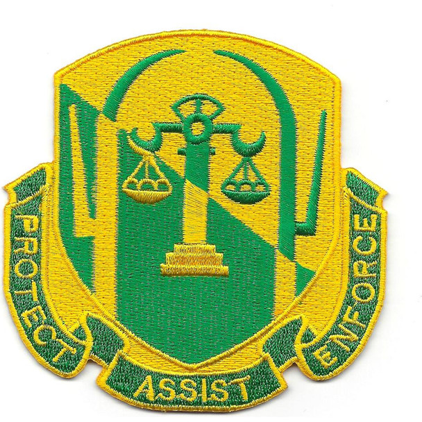 503rd Military Police Battalion Patch