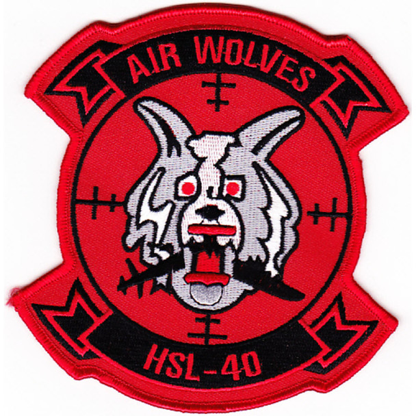 HSL-40 Patch Air Wolves