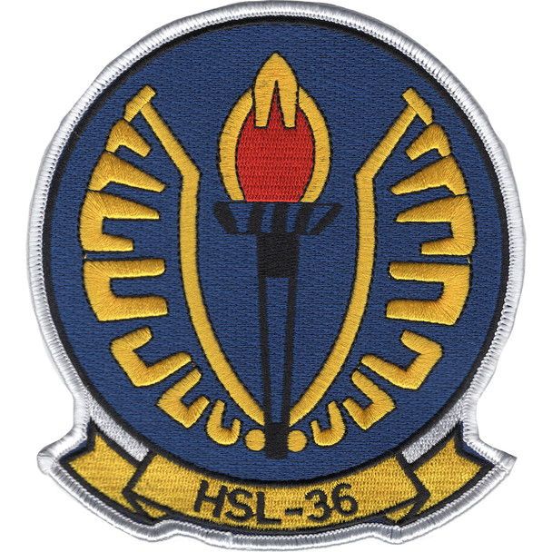HSL-36 Lamplighters Patch -  Anti-Submarine Squadron Light