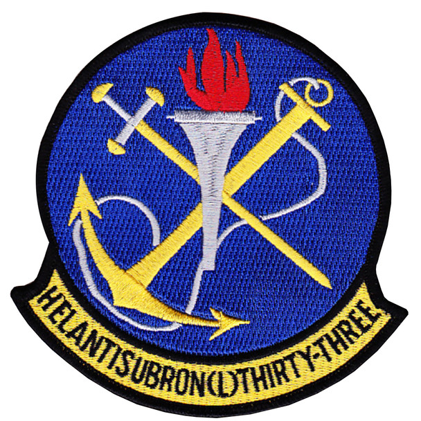 HSL-33 Helicopter Anti-Submarine Squadron Light Patch