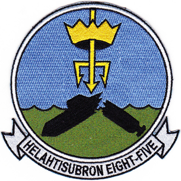 HS-85 Anti-Submarine Warfare Squadron Patch
