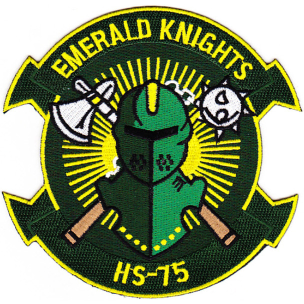 HS-75 Patch Emerald Knights