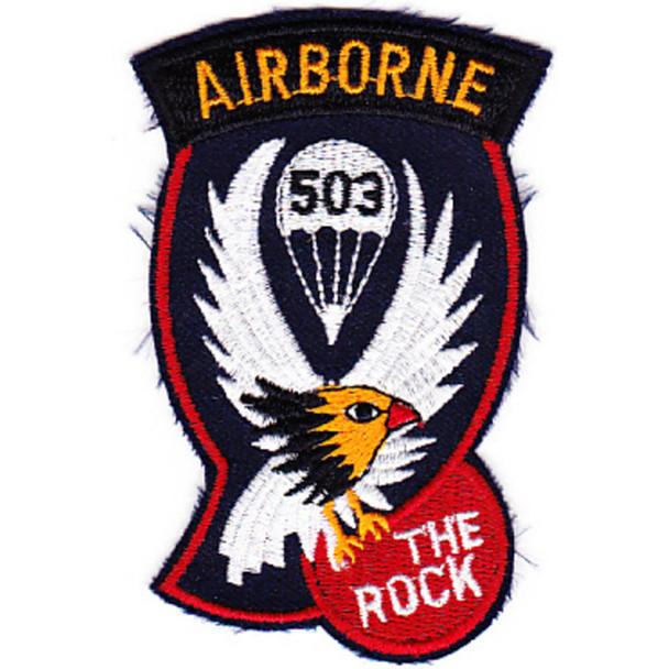 503rd Airborne Infantry Regiment Patch - D Version