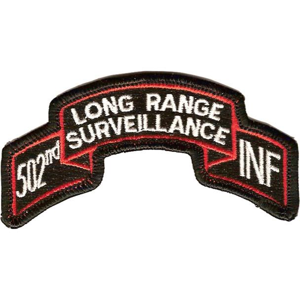 502nd LRS Infantry Patch