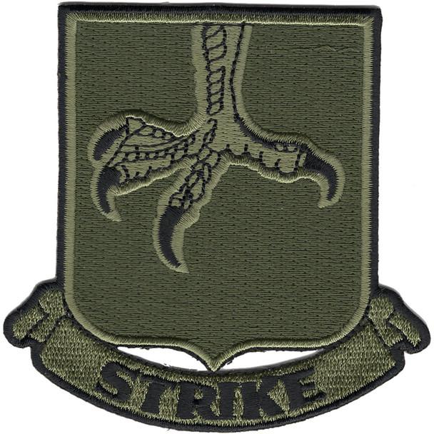 502nd Infantry Strike Patch OD Green