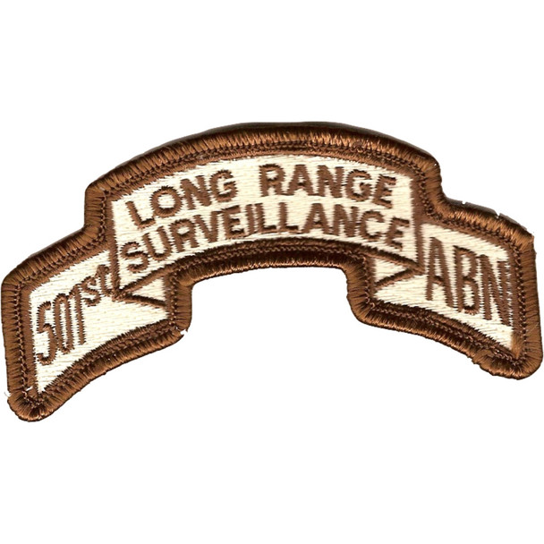 501st LRS Airborne Infantry Desert Patch