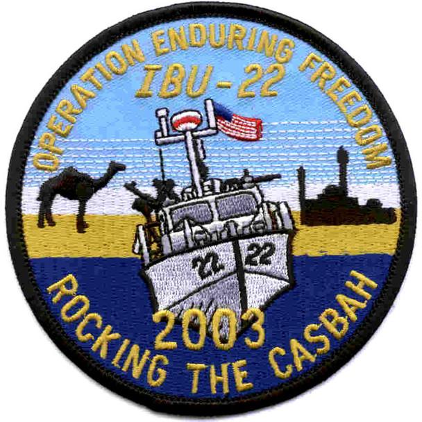 IBU-22 Inshore Boat Unit Twenty Two Patch
