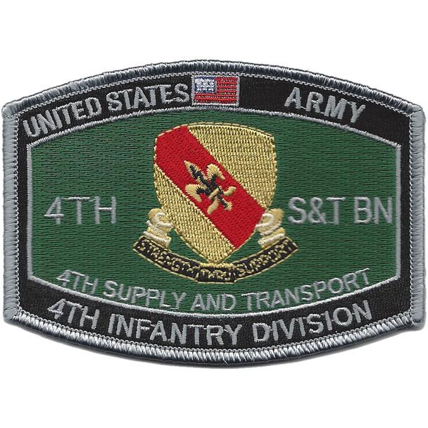 4th Supply Transportation Battalion Bn Patch